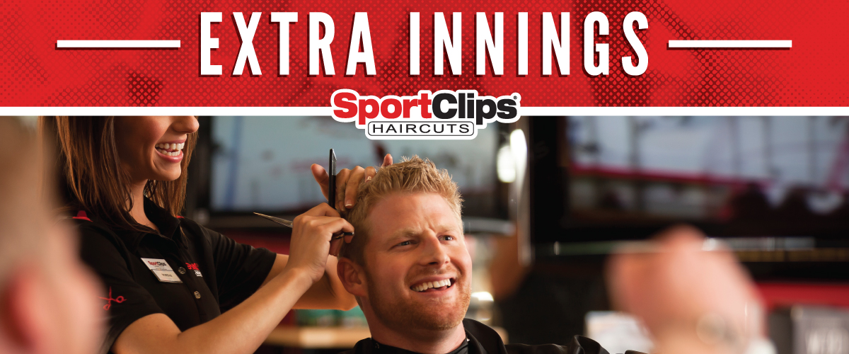The Sport Clips Haircuts of Parker Extra Innings Offerings